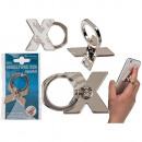 wholesale Mobile phones, Smartphones & Accessories: Metal finger holder for the Handy , letter X.
