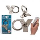 wholesale Mobile phones, Smartphones & Accessories: Metal finger holder for Handy , letter Y