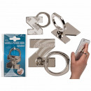 Metal finger holder for Handy , letter Z