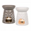 Ceramiczne lampy zapach, 12,5 x 10 cm, czujnik 2-k