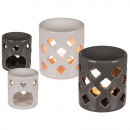wholesale Fragrance Lamps: Ceramic aroma lamp, approx. 8.5 x 10 cm