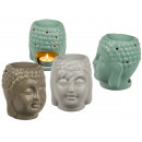 wholesale Fragrance Lamps: Ceramic aroma lamp, Buddha , approx. 14 x 12 ...