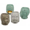 grossiste Maison et habitat: Lampe en céramique arôme, Buddha , environ 14 x 12