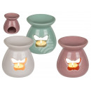 wholesale Fragrance Lamps: Ceramic aroma lamp butterfly, approx. 13 x 10 cm