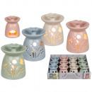 groothandel Huisgeuren/parfums: Aroma lamp met bloem, circa 9,5 x 8,5 cm