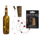 Bottle Cork String Light with 5 Red Heart LEDs