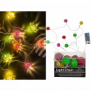 Fairy lights, Colorful metal balls with 10 LED