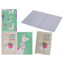 Notepad, llama, A5 format with 30 sheets