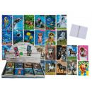 mayorista Material escolar: 3D Spiral Book, Animals, formato A6 con 50 hojas l