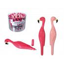 grossiste Cadeaux et papeterie: stylo à bille en  plastique,  Flamingo, environ ...