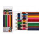 36 lápices de colores, el color surtido, 36 piezas