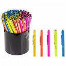 Neon metal pens with Swarovski S