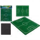 Mousepad, football field, about 23 x 20 cm