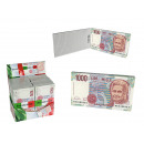 ingrosso Articoli da Regalo & Cartoleria: Blocco note con  100 fogli, 1000 lire nota, foderat