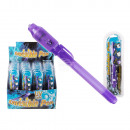 Secret Message Pen with invisible ink & UV-light,
