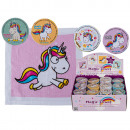 Magic cotton towel , comic unicorn