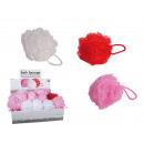 mayorista Ducha y baño: Nylon esponja de baño, Amor, a unos 12 cm, 3 color