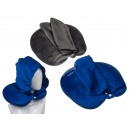 Neck pillow with hood & micropellet filling