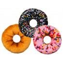Deko -coussins, Donut, 100% polyester, D: 30 cm,