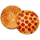 Deko -Pillows, Pizza, 100% polyester, D: 40 cm,