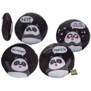 wholesale Cushions & Blankets: Decorative Pillows , Panda, 100% polyester , appro