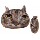 Decoration Pillows , Brown Cat, 100% polyester , c