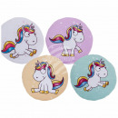 Deco Pillows , comic unicorn, 100% polyester