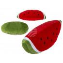 Deko-Kissen, Melone, 100% Polyester, ca. 30 cm