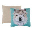 wholesale Cushions & Blankets: Decorative Pillows , Lama, 100% polyester , approx
