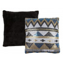 wholesale Cushions & Blankets: Decorative sequined Pillows , Ethno Style II, 100%