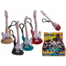 wholesale Music Instruments: Plush guitar with snap hook & sound