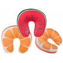 Cuscino del collo con ripieno micro pellet, frutta