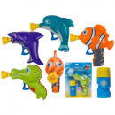 Großhandel Outdoor-Spielzeug:-Kunststoff Seifenblasenpistole, Meerestiere