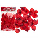 wholesale Artificial Flowers: Red rose petals, about 150 pieces in poly bags