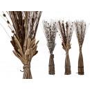 Brown / cream-colored decorative branches, H: 100