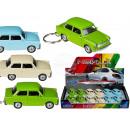 wholesale Models & Vehicles: Key fob model car,  Trabant 601, made of Met