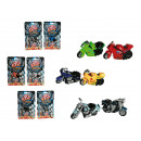 wholesale Models & Vehicles: Plastic motorcycle  with friction, High Speed, ca.