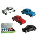 Model car, VW Beetle 1960, metal with plastic, ca.