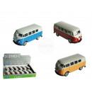 wholesale Models & Vehicles: Model car, VW T1  Bus 1963, metal with plastic, ca.