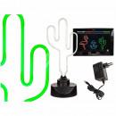 Neon Light, Cactus, H: 40 cm, 6W, 12V Ad