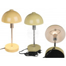 Cream-colored metal table lamp I, H: approx. 37 cm