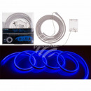 Blue neon light tube with LED, L: 2 m, for 3 M