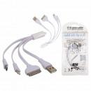 grossiste Informatique et Telecommunications: Cable USB avec 3  connexion  differente, env. ...