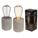 Decorative light, retro light bulb with LED plasti