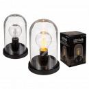 Lampe décorative, ampoule LED rétro avec et en pla