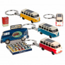 Keyring, VW T1 bus, with LED, incl. batteries, ca.