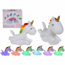 wholesale Child and Baby Equipment: Plastic night light, unicorn with color changing