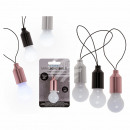 Plastic light bulb with white LED (incl