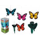 grossiste Jardin et bricolage: Papillon tournant,  env. 9 cm, avec cellule solaire