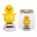 Movable figure chicks on plastic base with